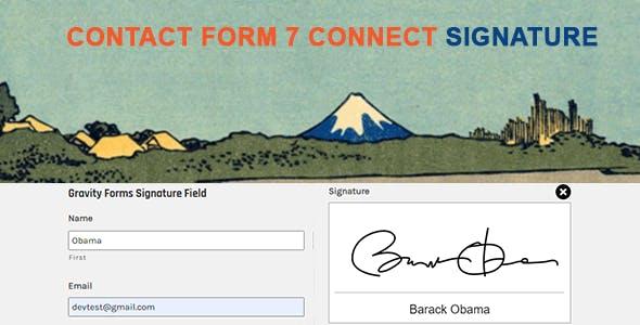 Contact Form 7 Signature