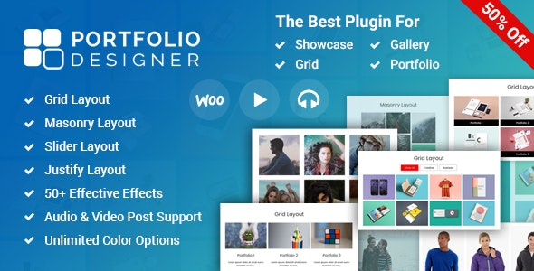 Portfolio Designer - WordPress Portfolio Plugin - CodeCanyon Item for Sale