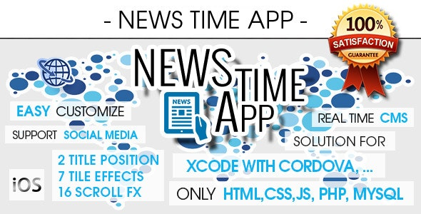 News App With CMS & Push Notifications - iOS [ 2021 Edition ] - CodeCanyon Item for Sale