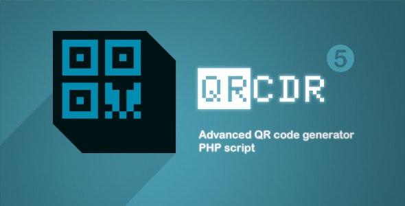 QRcdr - responsive QR Code generator - CodeCanyon Item for Sale