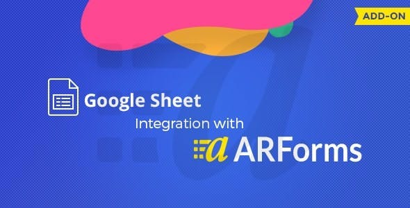 Google Sheets integration with ARForms