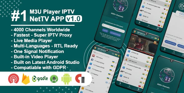 NetTV - IPTV & Android Live TV