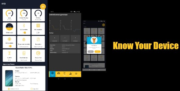 Know your Device- Android Device infromation