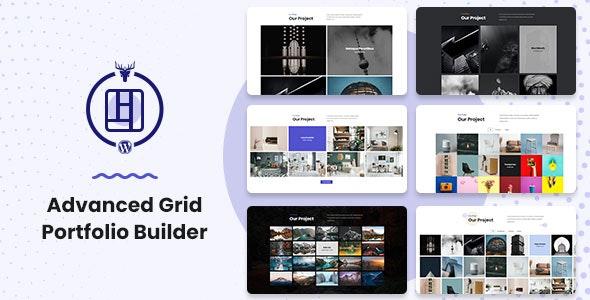 Advanced Grid Portfolio Builder - CodeCanyon Item for Sale
