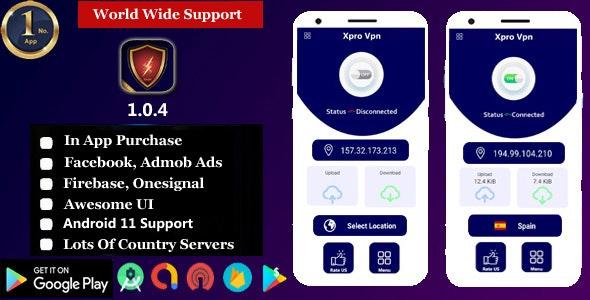 VPN X - Pro VPN -  VPN Unlimited Proxy | Super Fast Free VPN & Secure Hotspot