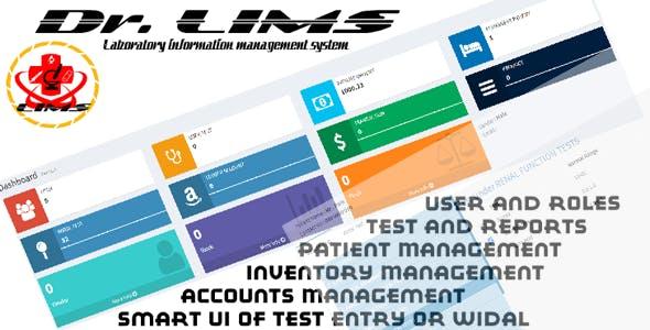 Dr. LIMS (Laboratory information management system) .net mvc core | open source