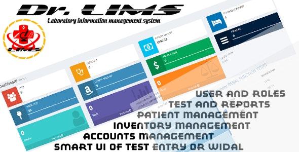 Dr. LIMS (Laboratory information management system) .net mvc core | open source - CodeCanyon Item for Sale
