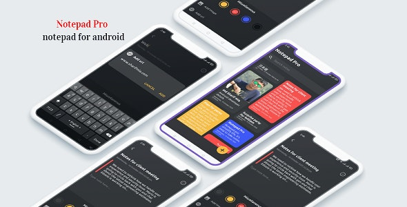 Notepad 2020 - keep notes, notepad pro for android - CodeCanyon Item for Sale