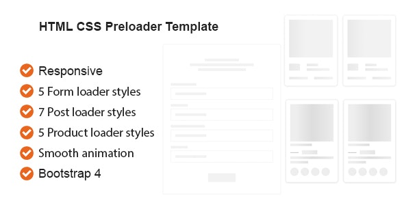 HTML CSS Preloader Animation Template - CodeCanyon Item for Sale