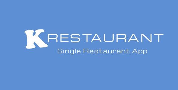 K-Restaurant Mobile App - CodeCanyon Item for Sale