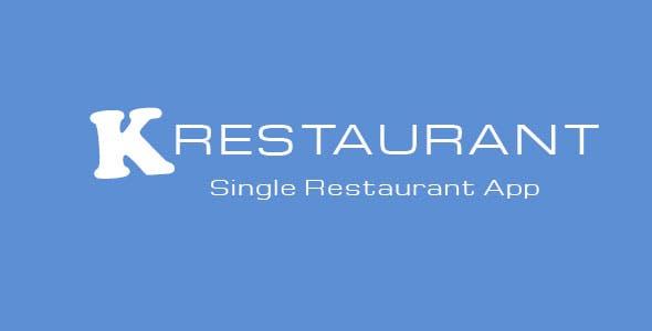 K-Restaurant Mobile App
