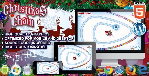 Christmas Chain - HTML5 Game