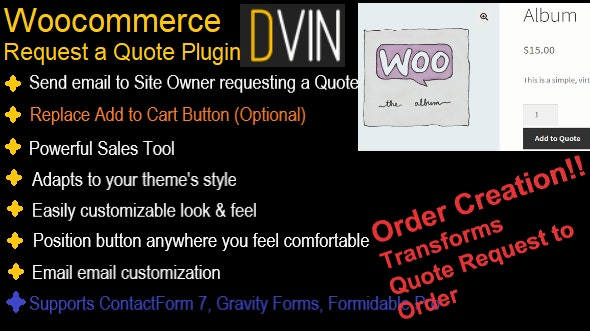 WooCommerce Request a Quote - CodeCanyon Item for Sale