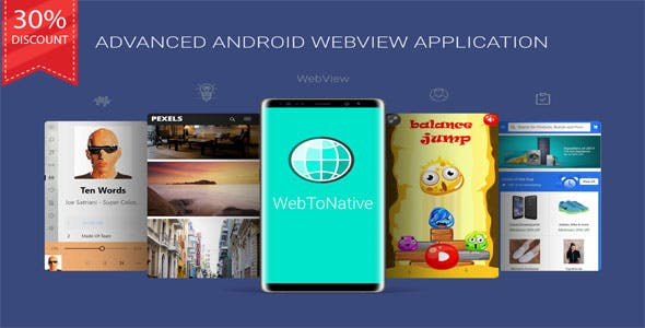 WebToNative - Advanced Android WebView Application