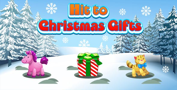 Hit to Christmas Gifts (CAPX and HTML5) Christmas Game