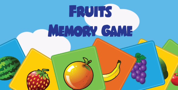 Kids Memory Game with AdMob (2020)