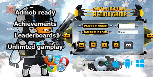 Super Strike Online Multiplayer, HTML5 game (Construct 2/ Construct 3)