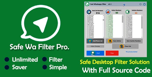 Save WAP contacts Filter