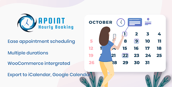 Apoint - Hourly Booking WordPress Plugin