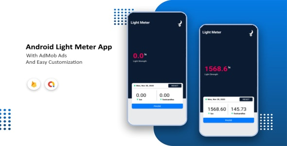 Android Light Meter App