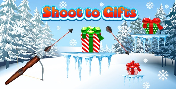 Shoot to Gifts (CAPX and HTML5) Christmas Game - CodeCanyon Item for Sale