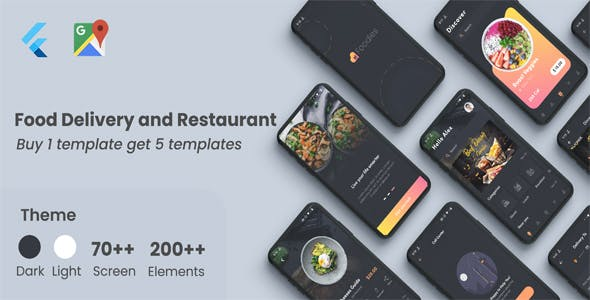 Flutter Food - Restaurant Food Delivery in Flutter