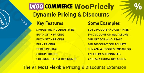Dynamic Pricing & Discounts (WooPricely) - CodeCanyon Item for Sale