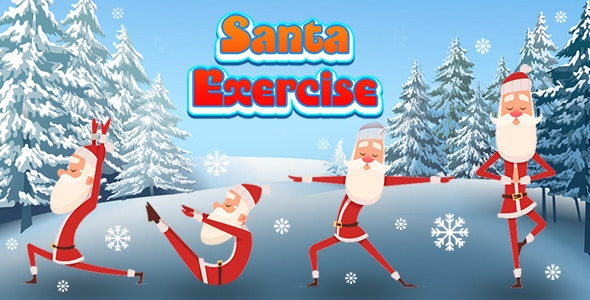 Santa Exercise (CAPX and HTML5) Christmas Game - CodeCanyon Item for Sale