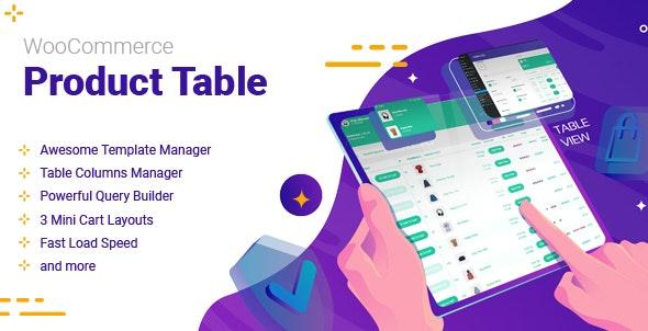 WooCommerce Product Table v2.4.0
