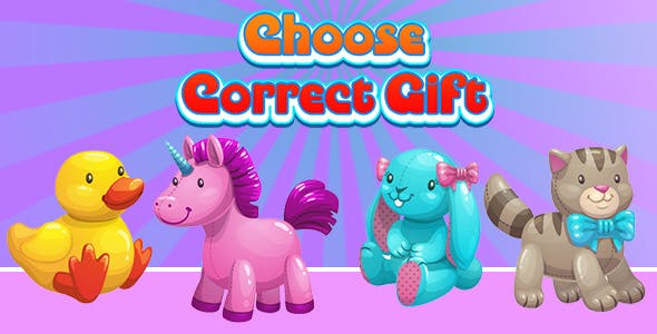 Choose Correct Gift (CAPX and HTML5) Christmas Game