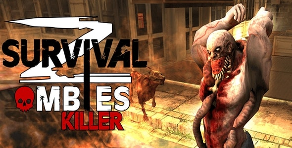 Zombie Shooter Survival killer  Death Target 3D - CodeCanyon Item for Sale