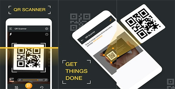 QR code scanner & Barcode scanner 2020 - CodeCanyon Item for Sale