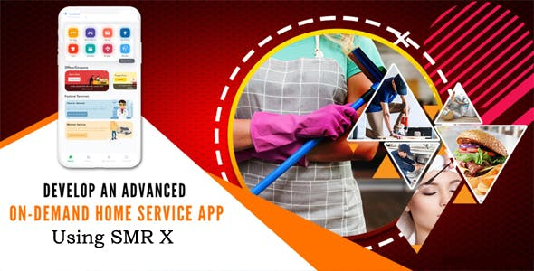 A stand-alone app for all On-demand services - SMR X