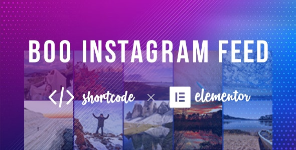 BOO Instagram Feed - CodeCanyon Item for Sale