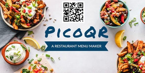 PicoQR - A Simple Restaurant Menu Maker