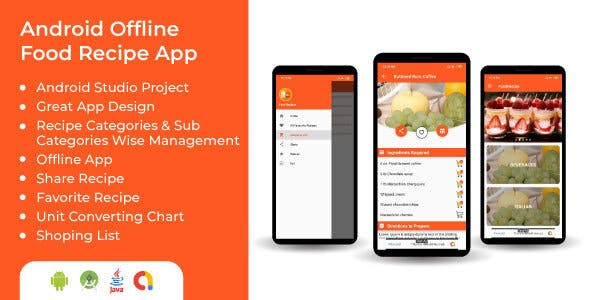 Offline Food Recipes Android Application