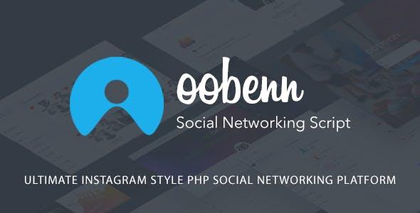 oobenn || Ultimate Instagram Style PHP Social Networking Platform