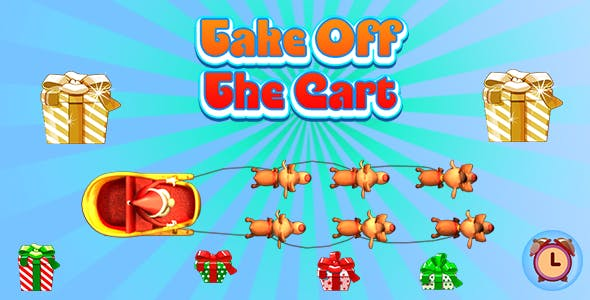 Take Off The Cart (CAPX and HTML5) Christmas Game