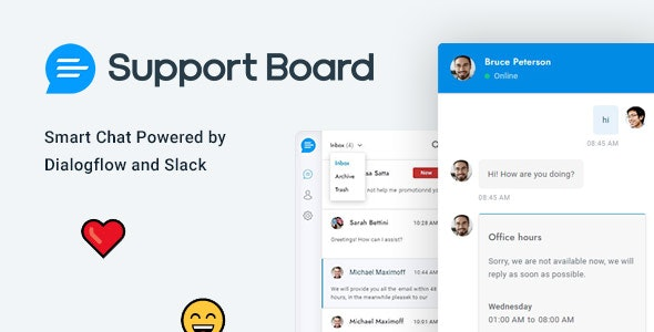 Chat - Support Board - WordPress Chat Plugin - CodeCanyon Item for Sale