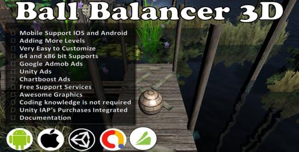 Ball Balancer 3D