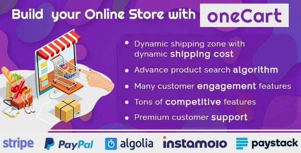 oneCart eCommerce Software - Online Store Solution