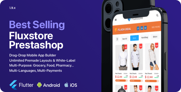 Fluxstore Prestashop - Flutter E-commerce Full App