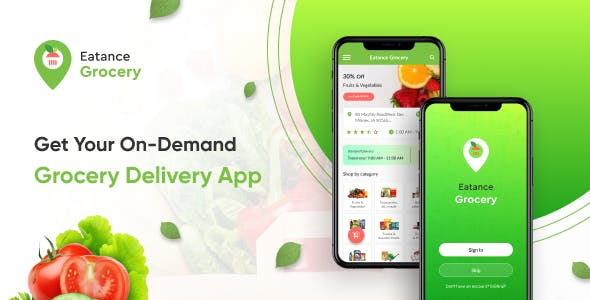 Eatance On-Demand Grocery Delivery App