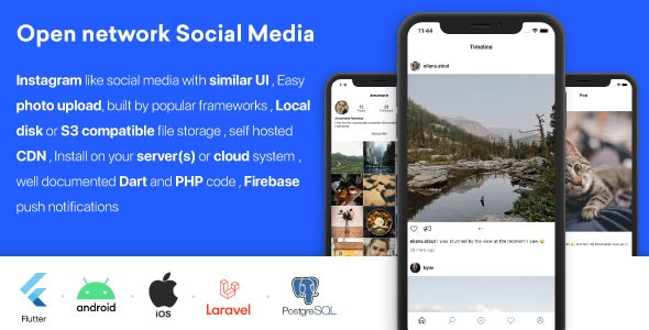 PicShare — Instagram like self hosted social media application