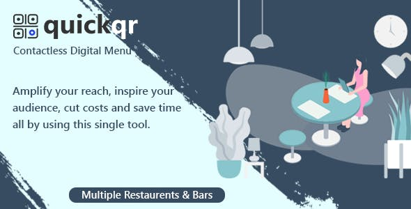 QuickQR - Saas - Contactless Restaurant QR Menu Maker
