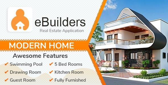 eBuilder - Real Estate iPhone Mobile App | Admin Panel