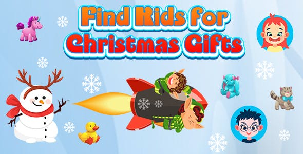 Find Kids for Christmas Gifts (CAPX and HTML5) Christmas Game