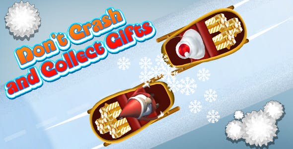 Don't Crash and Collect Gifts (CAPX and HTML5) Christmas Game