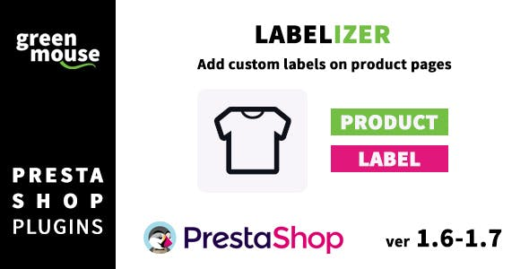 Labelizer - add custom labels on Prestashop product pages