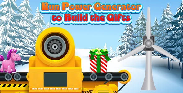 Run Power Generator to Build the Gifts (CAPX and HTML5) Christmas Game